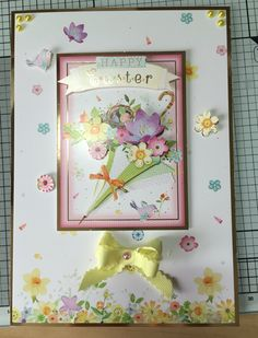 Easter card made using Hunkydory