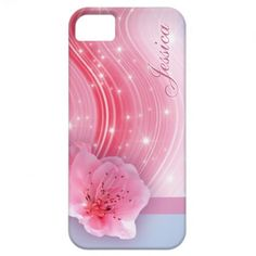 Pink Spring Blossom iPhone 5 Cover $39.95