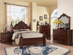 Clarissa Queen Bedroom Set w/ FREE extra nightstand – Katy Furniture King Bedroom Sets, Queen Bedroom, Master Bedroom, Master Suite, Trendy Bedroom, Modern Bedroom, Charlotte, Bedroom Posters, King Headboard