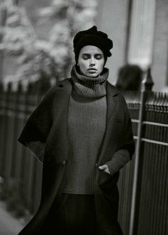 """Mystery in Brooklyn"" Adriana Lima by Peter Lindbergh for M Le Monde September 2014"