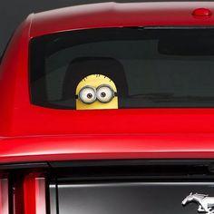 minion sticker for car: minion sticker for car