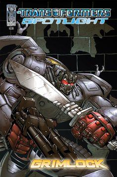 The Transformers: Spotlight: Grimlock