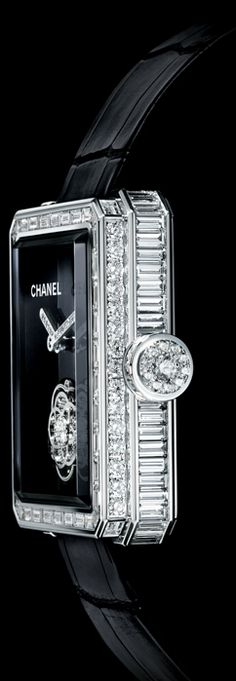 I could go for this Chanel watch.