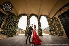 Amazing and intimate pre wedding photo shoot in Lake Como , grand hotel tremezzo and villa del balbianello Pre Wedding Photoshoot, Lake Como, Italy Wedding, Bridesmaid Dresses, Wedding Dresses, Grand Hotel, Amazing Destinations, Wedding Locations, Photo Sessions