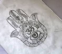 Image result for small hamsa hand tattoo