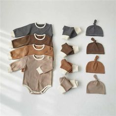 Winter Outfits For Girls, Toddler Girl Outfits, Toddler Boys, Kids Outfits, Baby Outfits, Baby Boys, Rompers For Kids, Foto Baby, Cute Baby Clothes