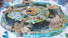 Southern Cross Mosaic - Completed