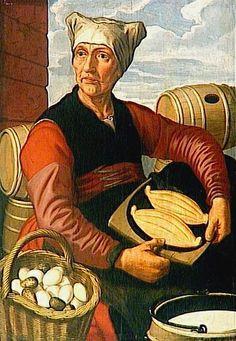''Egg seller '' by P
