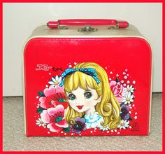 60's vintage character bag from the SHOWA NOTE Co., Ltd. Since 1947, Japan. ☆ショウワノートのヴィンテージ・バッグ。