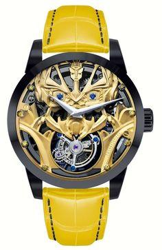 Dieses und weitere Luxusprodukte finden Sie auf der Webseite von Lusea.de  Memorigin Transformers Tourbillon Watches With Optimus Prime Or Bumblebee watch releases