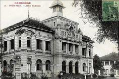 Phnom Penh - Cambodge - La Poste dans les années 20