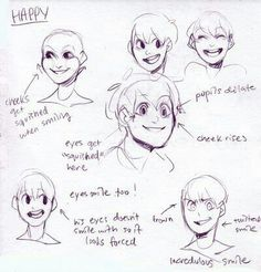 Happy expressions