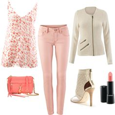CAbi Spring '15 Flirty Cami, Roadster Sweater and Nectar Skinny Jeans. #CAbiclothing