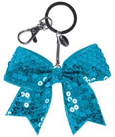 Mini Sequin Bow Keychain-- and only $2.95!