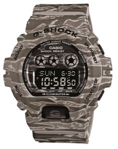 "Casio G-Shock Camo Watches - by Ariel Adams - If ever a watch could be rendered in camouflage and get away with it, it would be a Casio G-Shock. The new-for-2014 GDX6900CM collection isn't the first time we've seen Casio give its famous G-Shock collection a camo colorway, but these are a rather cool-looking set of watches. Casio even developed a new ""3D Camo Print"" technique for 5 new models this year - GDX6900CM-5 (greenish) and GDX6900CM-8 (grayish) models are coming to US this month..."