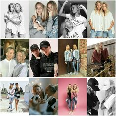 Lisa and Lena collage❤
