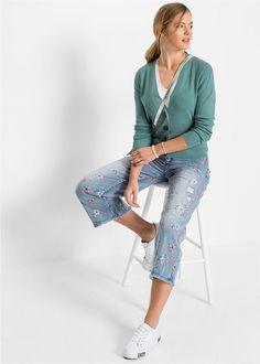 Jachetă tricotată albastru mineral Un Mineral, Capri Pants, Bikini, Costume, Fashion, Bikini Swimsuit, Moda, Capri Trousers, Fashion Styles