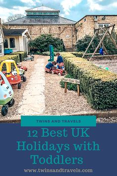 I've compiled for you a quick list of some of our best UK holidays with toddlers that we have had, and most of these have been with twin toddlers – I can guarantee, you will love each and every one! Best Uk Holidays, Child Friendly Holidays, Holidays With Toddlers, Twin Toddlers, Toddler Travel, Holiday Resort, Family Activities, Fun Learning, Parenting Hacks