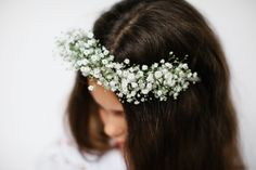 Summerblossom Fresh Floral Hairpieces