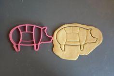 PINK Pig Cookie Cutter....