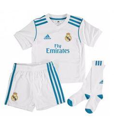 Real Madrid Hemmatröja Barn 17-18 Kortärmad