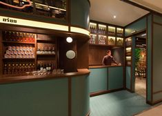 Hong Kong Restaurant - The design firm NC Design & Architecture recently constructed an upscale Hong Kong restaurant with an unexpected facade. While most restaurants. Restaurant Interior Design, Commercial Interior Design, Cafe Interior, Commercial Interiors, Speakeasy Restaurant, Thai Restaurant, Design Blog, Cafe Design, Hospitality Design