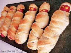 mummy hotdogs by manuela