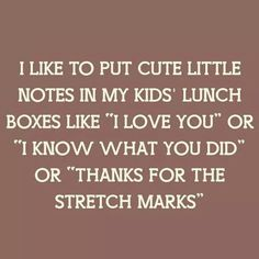 Lunchbox notes                                                       …