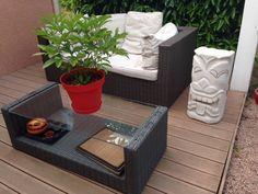 Tiki pour terrasse (de Tikisquare)