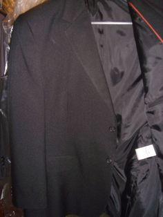 Doc & Amelia Black Blazer 2 Button Jacket Size 46 Reg New With Out Tags  #DocAmelia #TwoButton