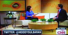 Heiddy Sulbarán en Café CNN Interview
