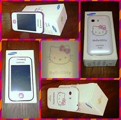 Samsung Galaxy Young GT-S5360 Hello Kitty Special Edition  -Network: GSM  850 / 900 / 1800 / 1900 -Network: HSDPA 900 / 2100 -Mini-SIM -Dimensions 104 x 58 x 11.5 mm (4.09 x 2.28 x 0.45 in)Weight97.5 g (3.42 oz) -Display: TFT capacitive touchscreen, 256K colorsSize240 x 320 pixels, 3.0 inches (~133 ppi pixel density) -Multitouch: TouchWiz UI -Audio Jack: 3.5mm  -Memory Card Slot: microSD, up to 32GB -Internal Memory: 180 MB -RAM Data: 280 MB -Signals:GSM, GPRS, EDGE, 2G, 3G & 4G -Speed…