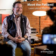 He's back on his feet with bilateral arthrosurface toe systems. This is his story of meeting Dr Tad Sprunger, of Troy Foot & Ankle and receiving the Arthrosurface ToeMotion implants in each Big Toe. Joint Replacement, Big Toe, Troy, Meet, Ankle, Wall Plug