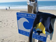Tsunami Hazard warning. I miss Hawaii!!