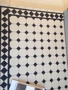 Victorian tile border