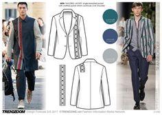 #Trendzine SS17 #trendforecast on #WeConnectFashion. Transborder, Men's apparel