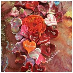 A personal favorite from my Etsy shop https://www.etsy.com/listing/514240781/heart-love-tokens-personalized-heart