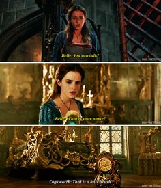 New scenes of Emma Watson as Belle for Beauty and the Beast
