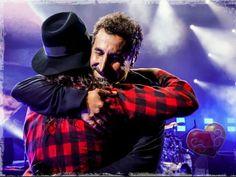 Aaw, Serj Tankian and Daron Malakian photo: Greg Watermann
