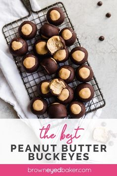 This classic Buckeyes Recipe is a family favorite! Peanut butter balls dipped in chocolate only require a few ingredients and are a holiday staple. Candy Recipes, Holiday Recipes, Cookie Recipes, Dessert Recipes, Christmas Recipes, Christmas Desserts, Dinner Recipes, Peanut Butter Buckeyes, Peanut Butter Balls