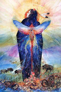 Prairie Sphinx Woman