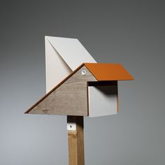 letterbox kk orang s-panels Dust Collector, New Homes, Side Panels, House, Outdoor, Orange, Garden, Design, Home Decor