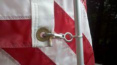DIY flagpole and holder!