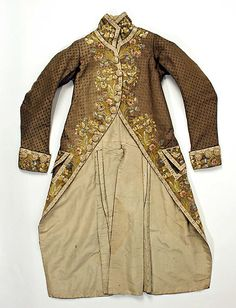 Suit: Coat 1774, French, Made of silk