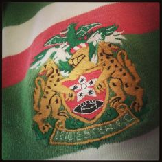 Leicester tigers rugby shirt