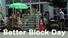 Richmond Better Block #communityengagement Richmond's first Better Block project took place in North Church Hill on historic 25th street. Property owners, stakeholders, and residents all gathered to transform a block and create parklets, pop-up businesses, and a community plaza.