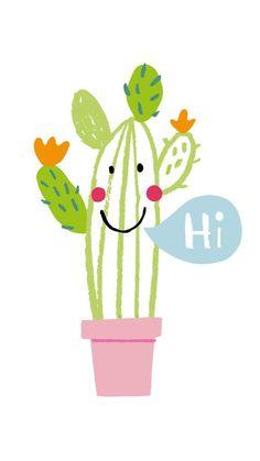 Wallpapers com temática de cactus para celular! - Tudo para Tudo
