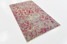 """This Turkish Casablanca rug is made of Polypropylene. This rug is easy-to-clean, stain resistant, and does not shed.  Colors found in this rug include: Multi, Beige, Blue, Brown, Gray, Peach, Red, Pink, Puce, Purple. The primary color is Multi.  This rug is 1/2"""" thick."""