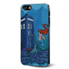 Ariel Mermaid Tardis Samsung Galaxy S3 S4 S5 Case Samsung Galaxy Note 3 Case iPhone 4 4S 5 5S 5C Case Ipod Touch 4 5 Case