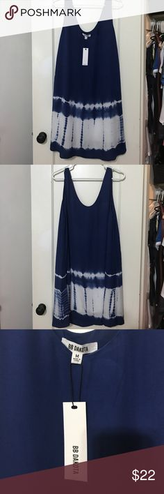 NWT BB Dakota Swim Cover Up 100% rayon exterior with 100% rayon lining shell BB Dakota Swim Coverups